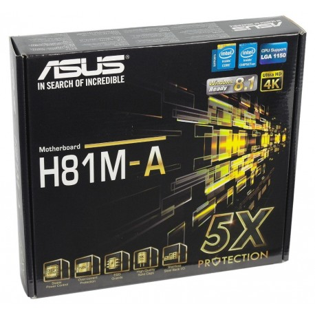 Carte mere ASUS H81M-A