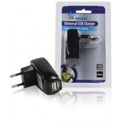 chargeur de téléphones portables 2 USB