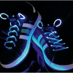 Lacets Lumineux Bleus
