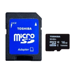 Carte Micro SD Toshiba 16GB