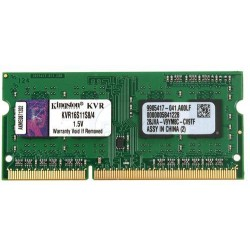 Kingston SODIMM DDR2 4Go PC3 12800