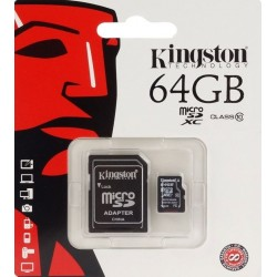 Carte Micro SD Kingston 64GB