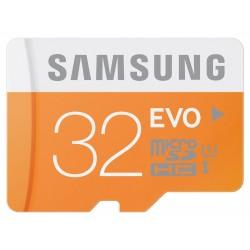 Samsung Carte Mémoire Micro SD Evo 32 Go