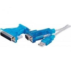 Adaptateur USB 2.0 à Série Universelle Dacomex