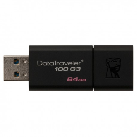 Clé USB Kingston 64 Go DataTraveler 100 G3 USB 3.0