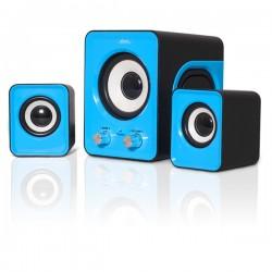 Enceinte ADVANCE SP-U803BL SoundPhonic 2.1 6Watts RMS bleu